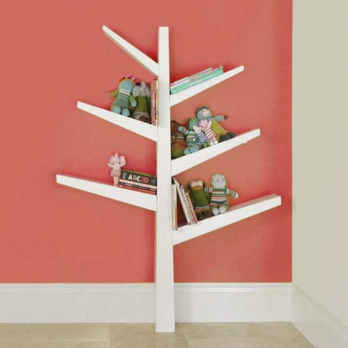 This Cheerful Babyletto Spruce Tree Bookcase ($199) Adds A