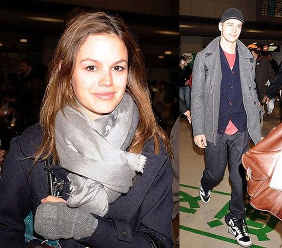 Rachel Bilson and Hayden Christensen Arrive in Tokyo Ahead of Promoting Jumper