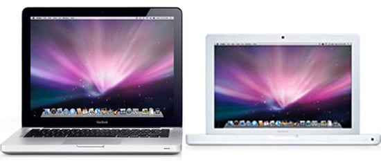 New MacBooks Announced at Fall 2008 Apple Event Have Different Black Glass Design Than Older Models
