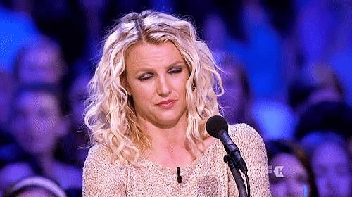 "Because no one does a ""WTF"" face like Britney."