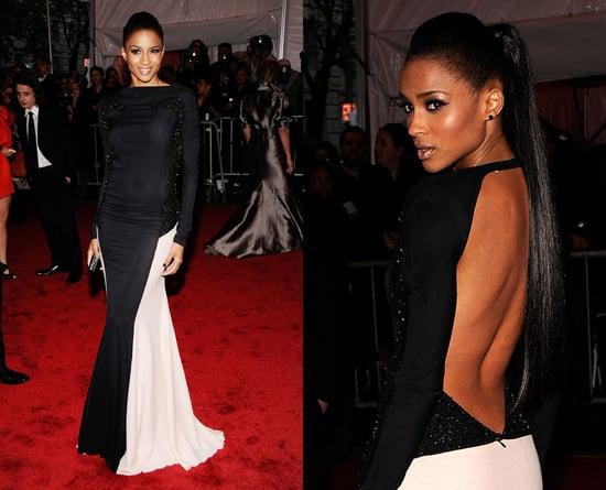 The Met's Costume Institute Gala: Ciara