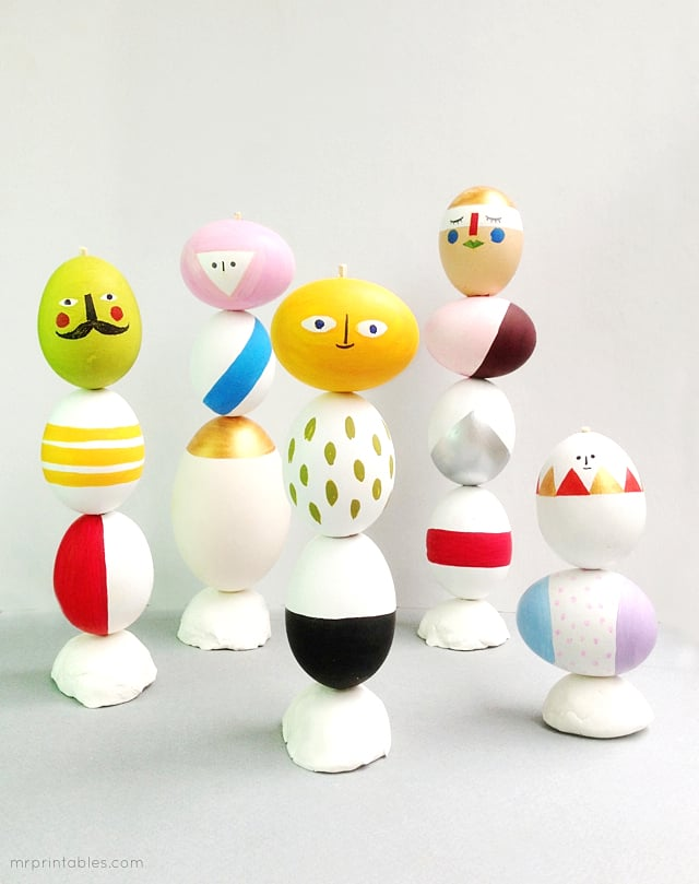 Easter Egg Sculptures