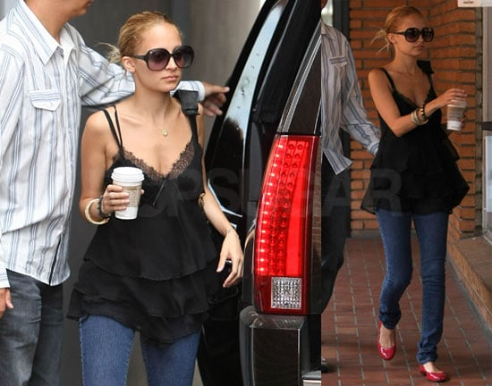 Photos of Nicole Richie at Traffic School in LA