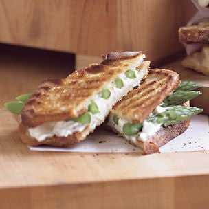 Asparagus and Goat Cheese Panini Recipe