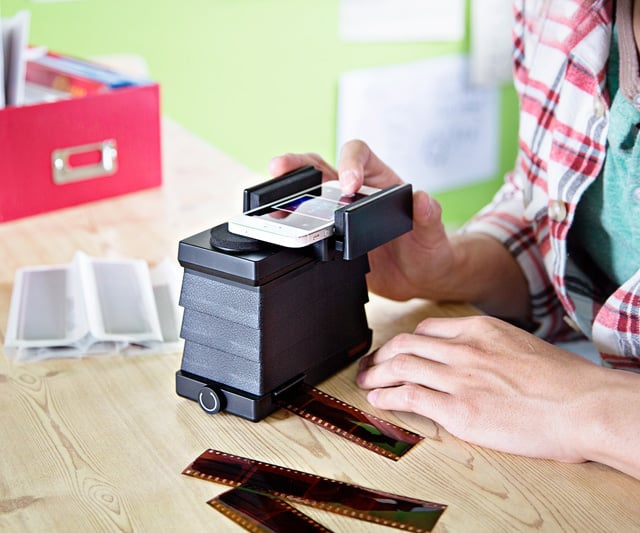 iPhone and Android Film Scanner