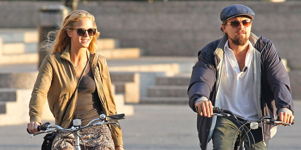 Celebrities Hit the Road on Bikes