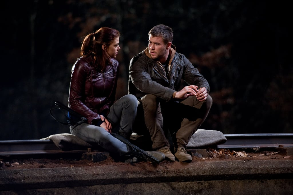 Adrianne Palicki and Chris Hemsworth in Red Dawn. Photo courtesy of
