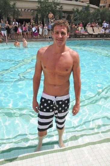 Ryan Lochte kept the shirtlessness coming during an August trip to Las Vegas, where he famously raced Prince Harry during a night out.