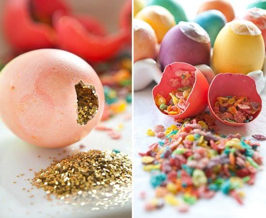 Easter Confetti Eggs