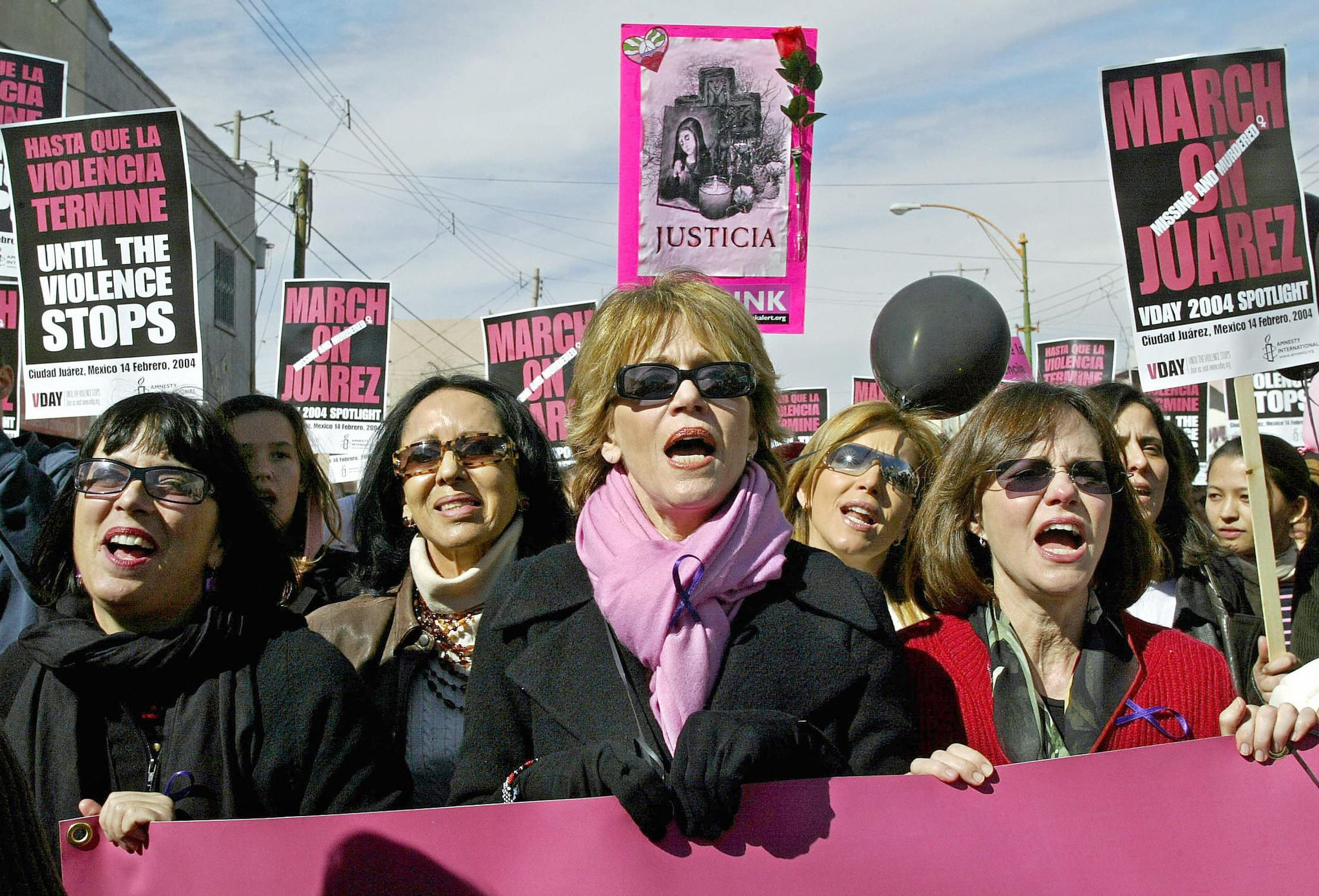 International Women's Day in Mexico, 2004
