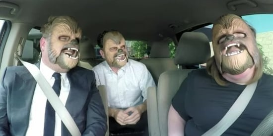 Chewbacca Mom Loses It Again With James Corden And J.J. Abrams