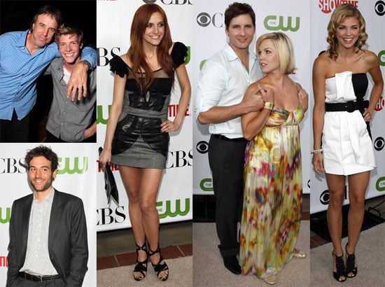 Facinelli on Pattinson, Ashlee on Bronx, Hunter on Zac, and More at Showtime, CW, and CBS Party!