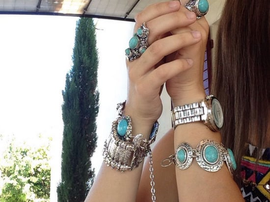 All The Inspiration You Need To Wear Turquoise Jewelry This Summer