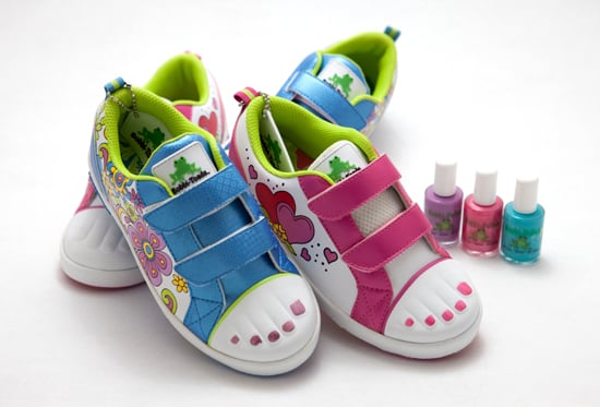 Bobbi-Toad Kid Shoes With Paintable Toes