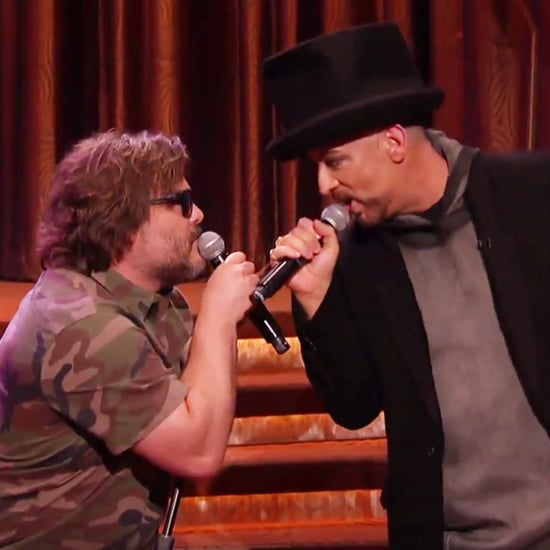 "Jack Black and Boy George Sing ""Hello, I Love You"""