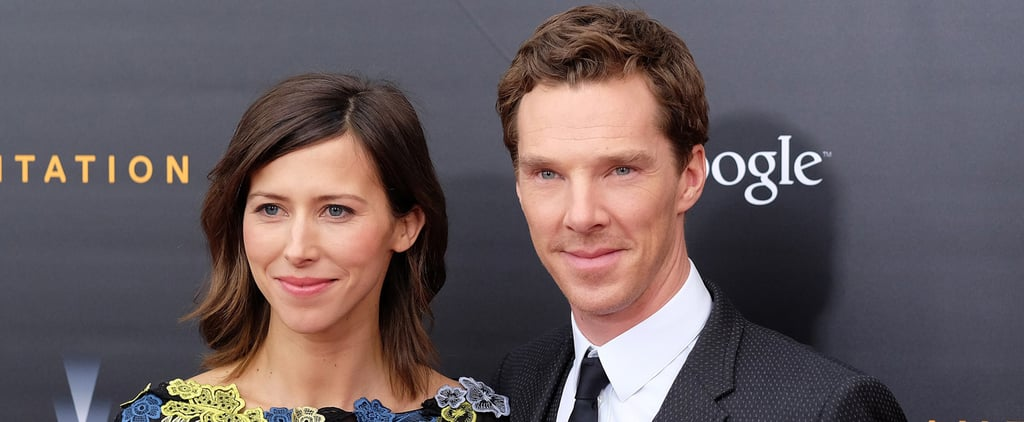Benedict Cumberbatch Makes His First Official Appearance With His Fiancée