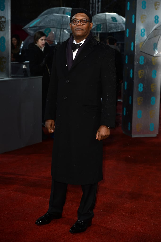 Samuel L. Jackson hit the red carpet in London for the BAFTA Awards.