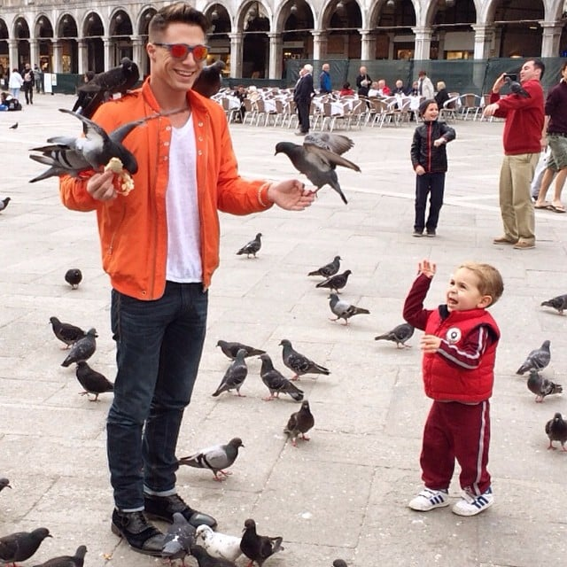 Those Birds and That Young Boy