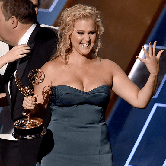 Amy Schumer Prepping For Emmys 2015   Video