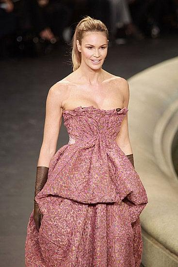 Adriana Lima, Bar Refaeli, Laetitia Casta, and Elle Macpherson Add Voluptuousness to Louis Vuitton's Fall 2010 Runway