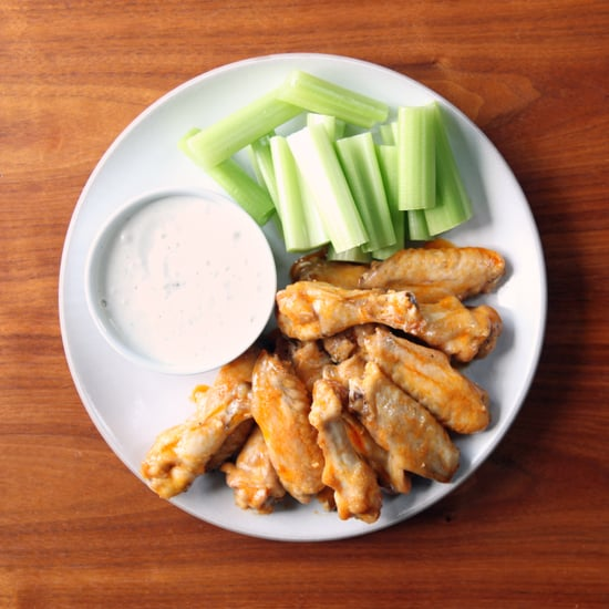 Baked Buffalo Chicken Wings Recipe