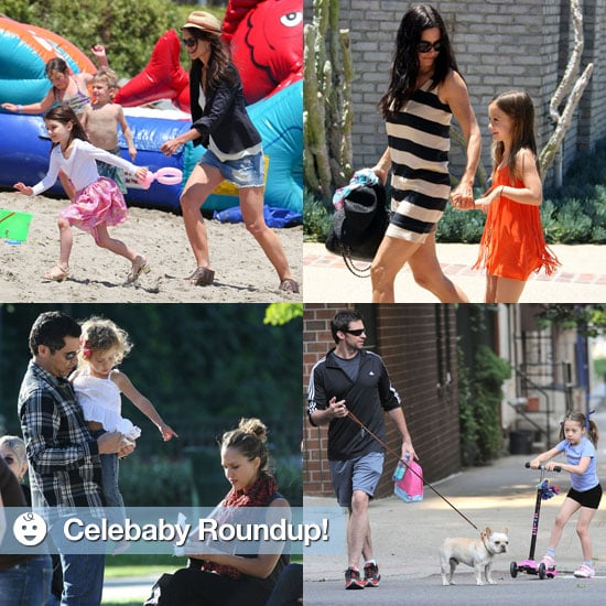 Suri Cruise and Zuma Rossdale Pictures on Memorial Day 2011