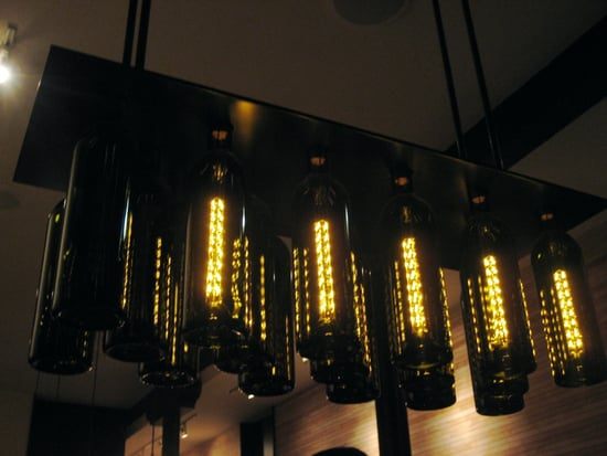 Wine Bottle Chandelier: Love It or Hate It?