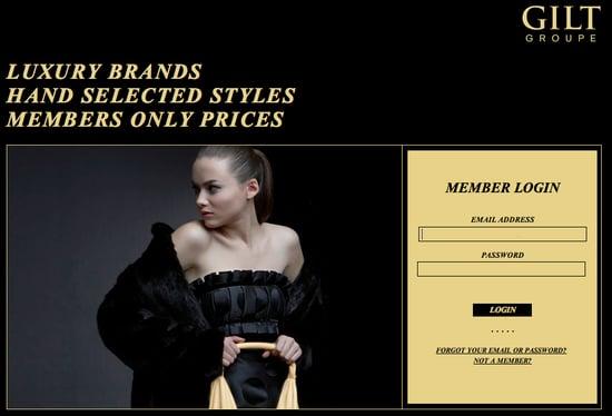 Fab Site: Gilt.com