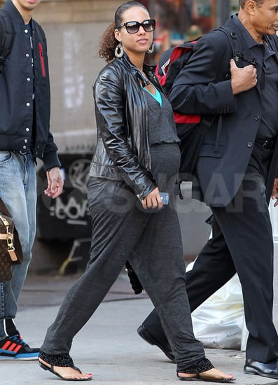 Pictures of Alicia Keys Pregnant