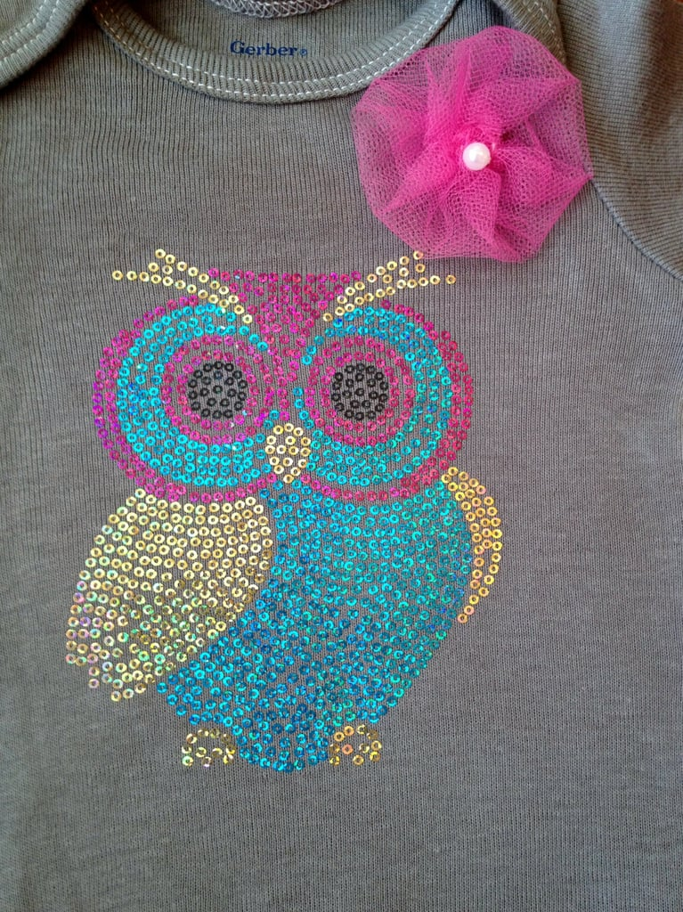Owl Decal Onesie ($22)
