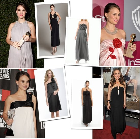 Picture of Pregnant Natalie Portman on the Red Carpet