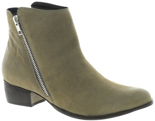 Dune Pacific Flat Ankle Boot With Zip