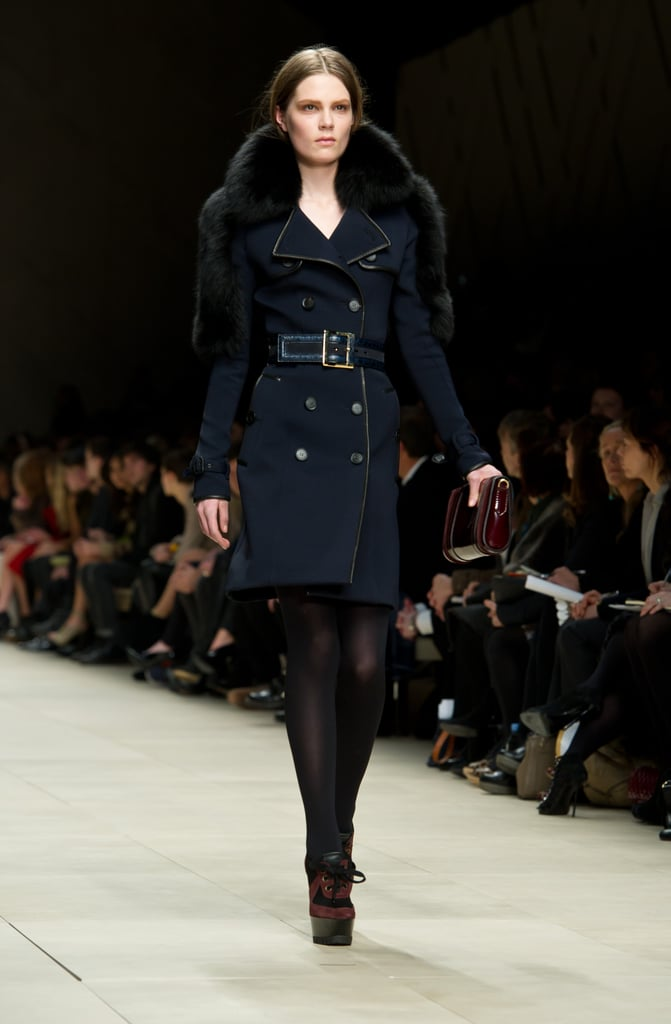 2011 Autumn London Fashion Week: Burberry Prorsum
