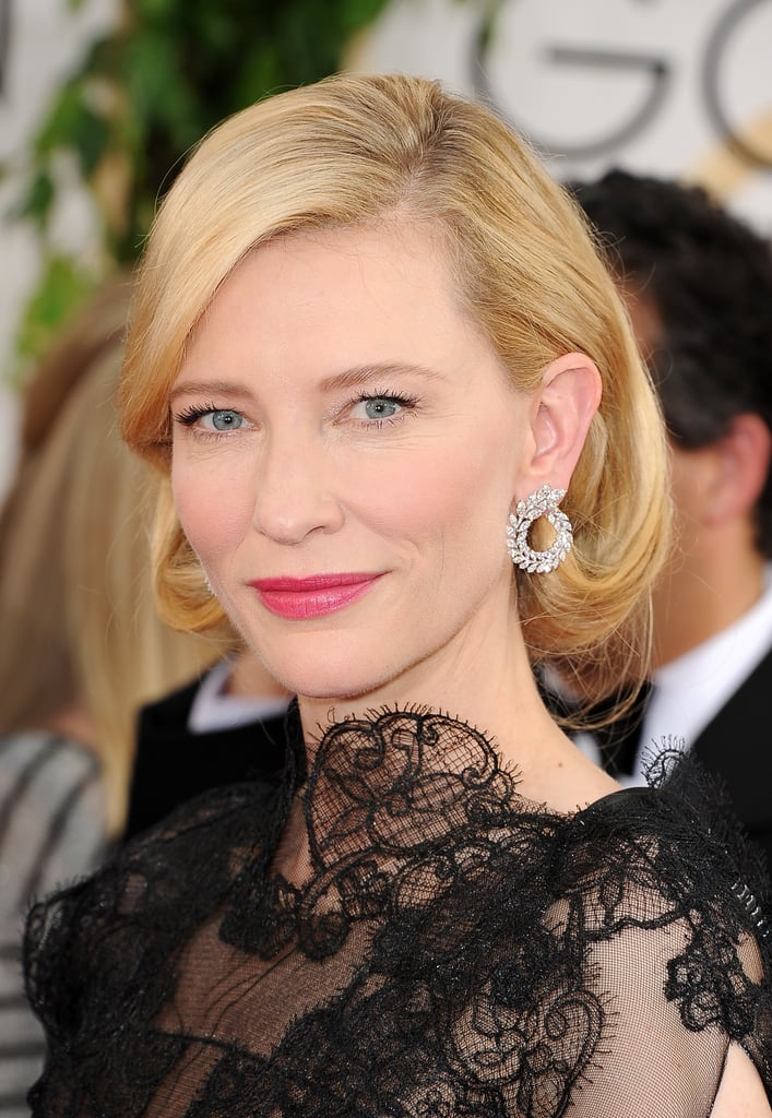 Leave it to the great Cate Blanchett to always leave us wanting more. The icon had us hooked with her faux bob and hot-pink lipstick.