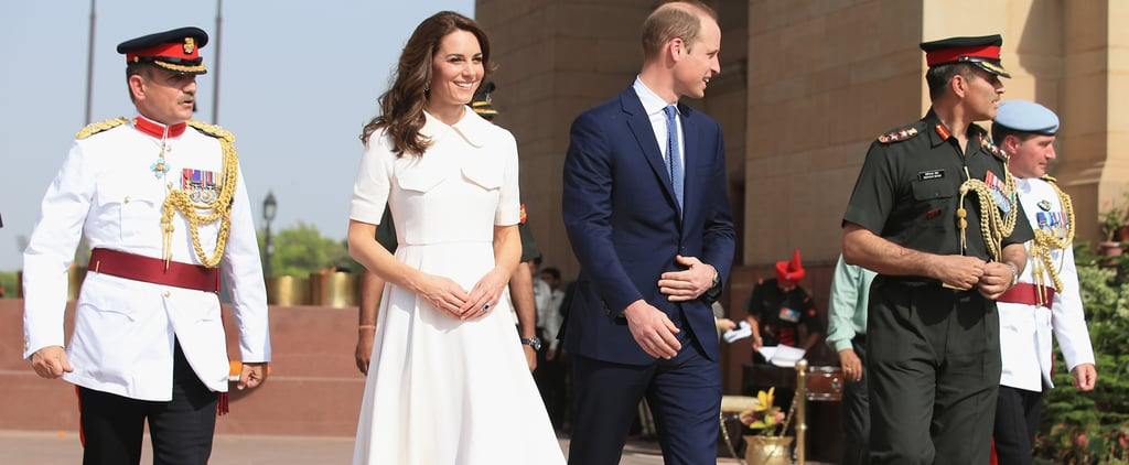 Kate Middleton Lights Up Day 2 of Her India Tour in All White