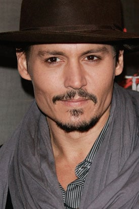 Sugardaddy Johnny Depp Gives Kid the Hat Off of His Head