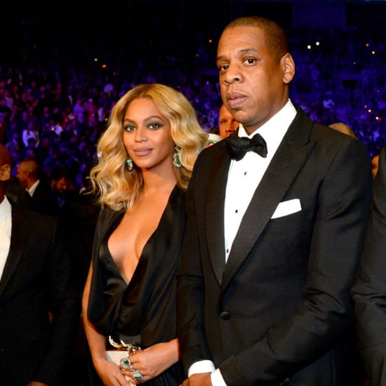 Beyonce and Jay Z at Boxing Match in Las Vegas November 2015