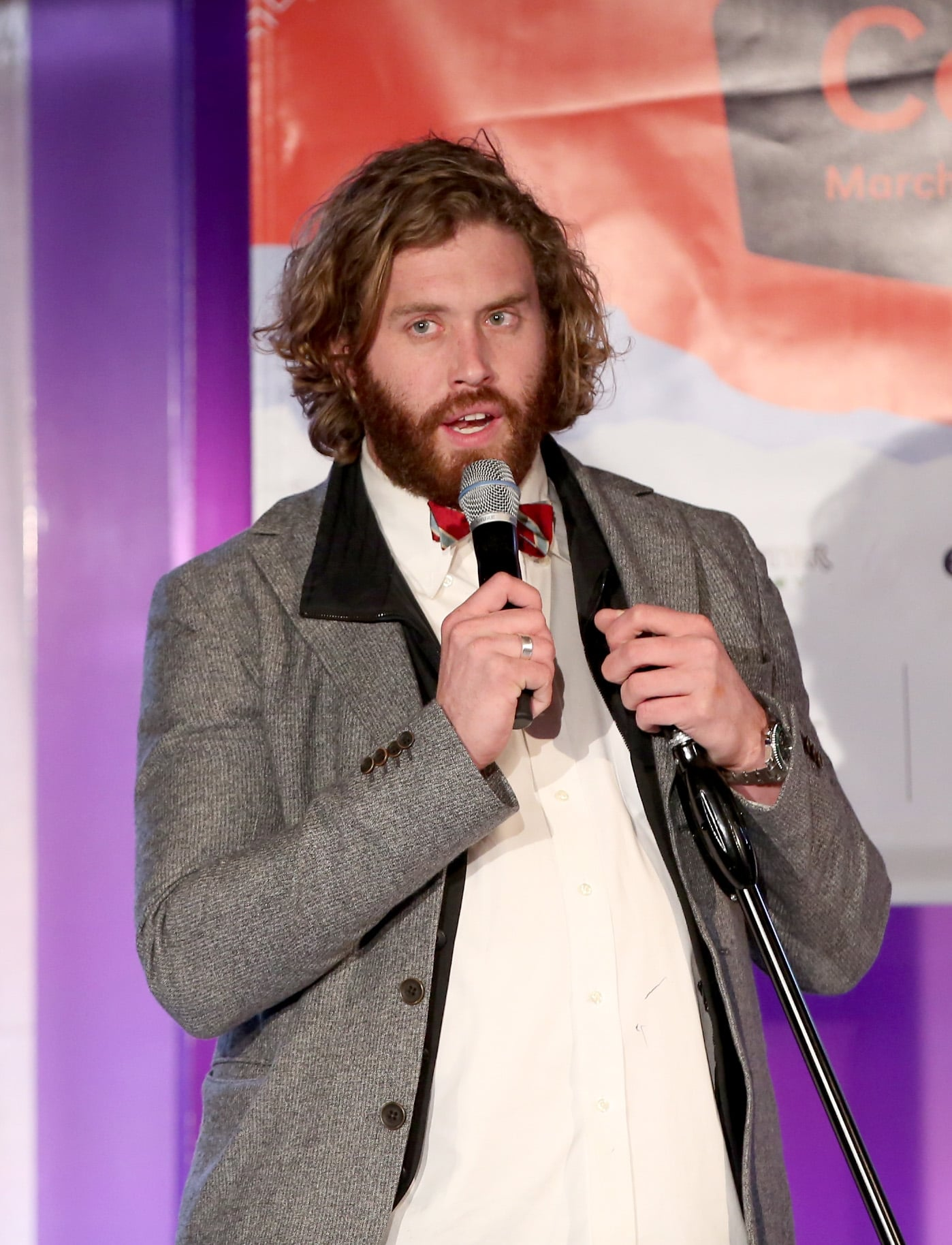 T.J. Miller also took the stage on Sunday with his comedy.