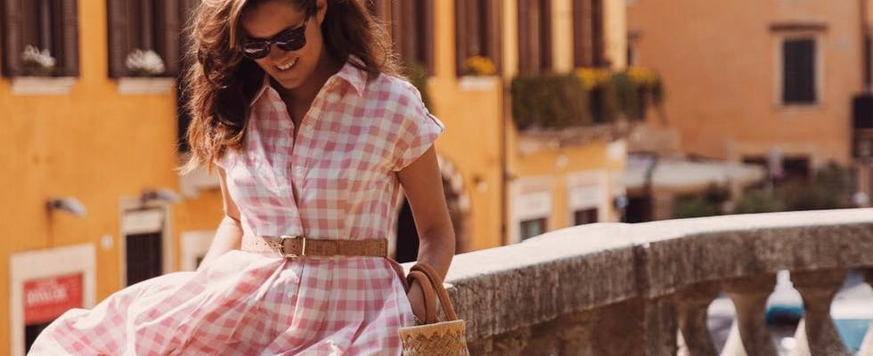 32 Gorgeous Real-Life Gingham Looks That Are Perfect For Summer