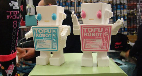 Spicy Brown and Tofu Robot at Wondercon