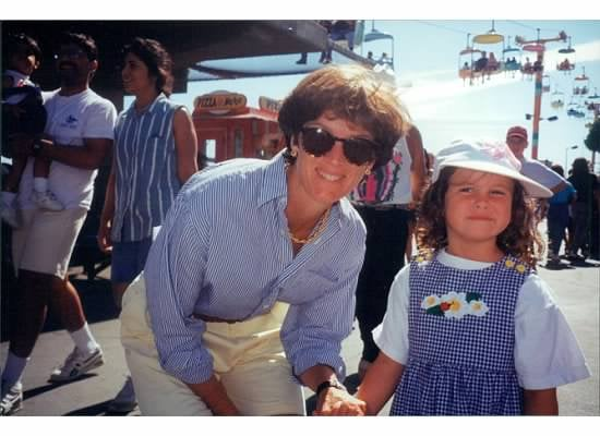 """""""My mom is the epitome of California cool, as you can see from this 1990s throwback. Fads may come and go, but if there's one thing she's taught me it's that simplicity goes far — oh, and killer shades don't hurt, either."""" — Molly McGlynn"""