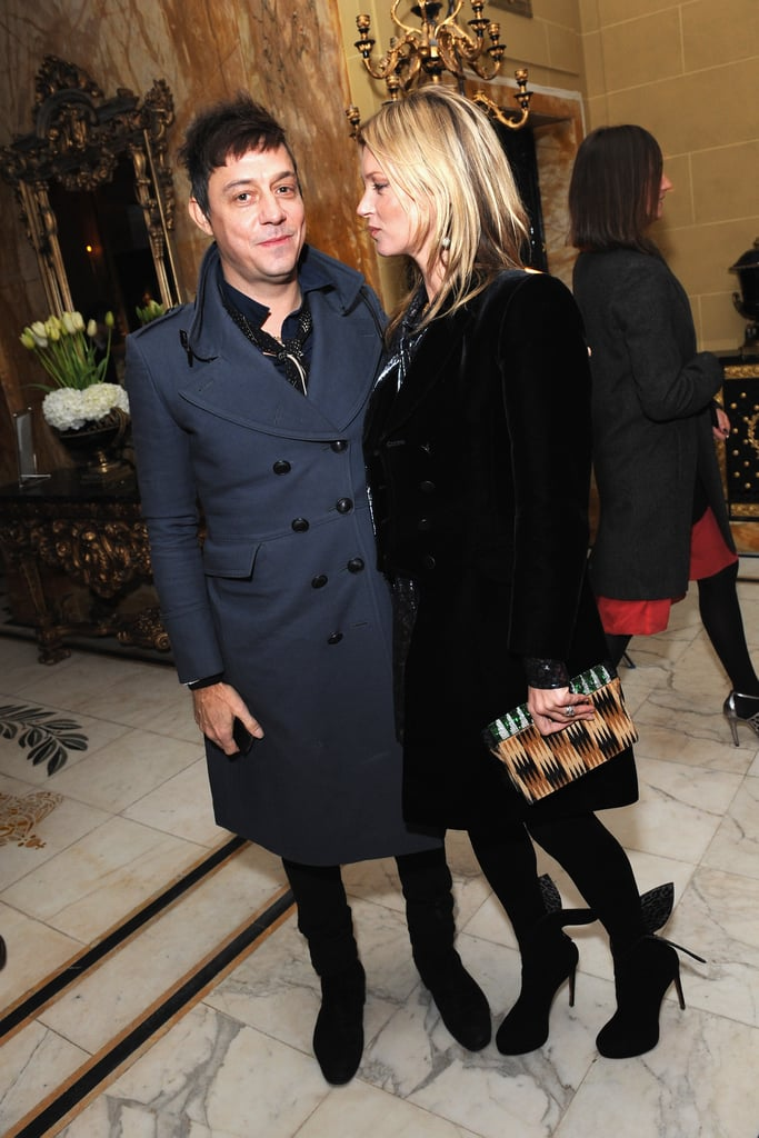 Kate Moss stepped out with her husband, Jamie Hince, in London.