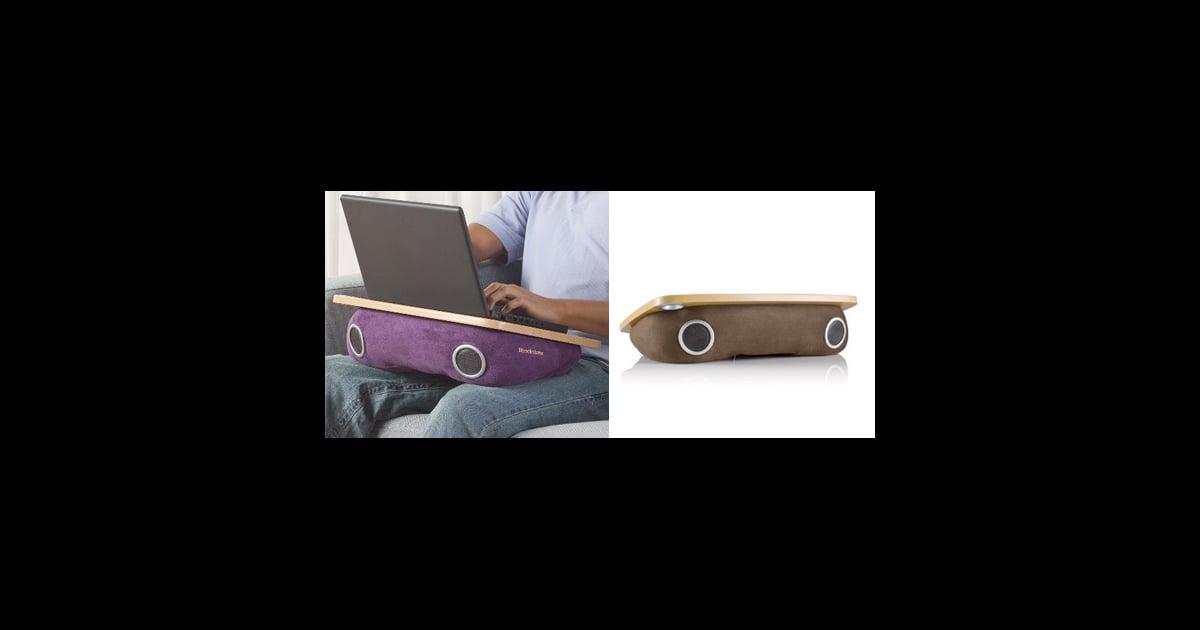 Laptop Speaker Lap Desk Popsugar Tech