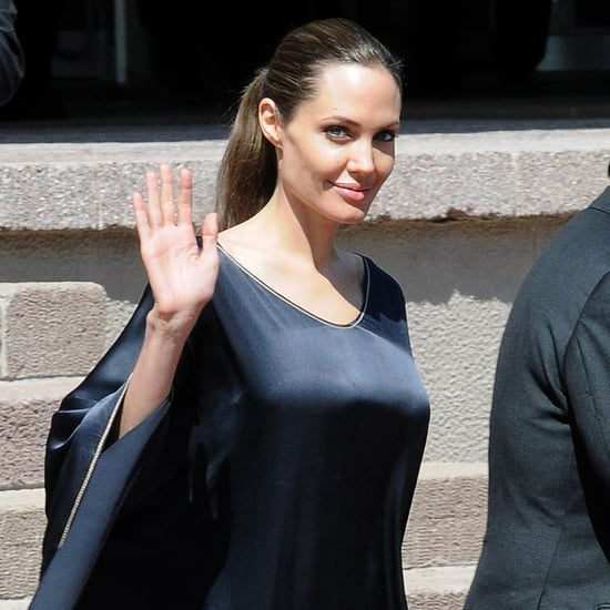 Angelina Jolie in Turkey With Syrian Refugees | Pictures