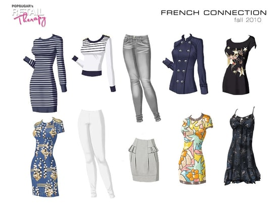 PopSugar's Retail Therapy Adds French Connection and 7 For All Mankind