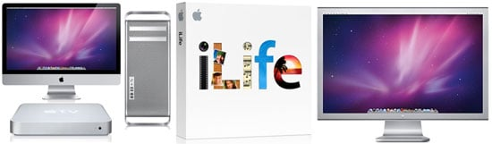 Apple iMac, Mac Pro, Cinema Display, Apple TV, and iLife Rumors