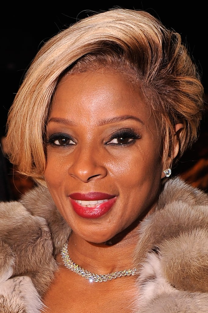 Mary J. Blige at Dennis Basso