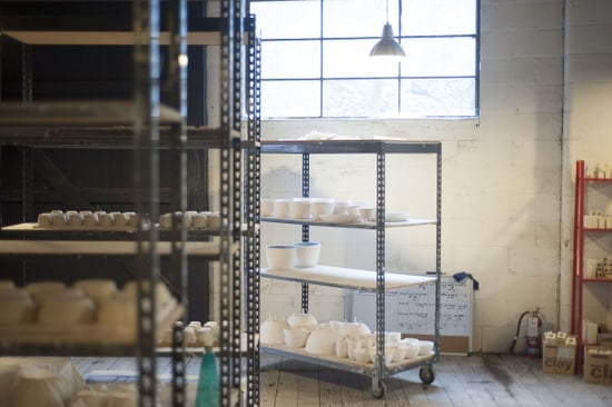 A Studio Tour of Pigeon Toe Ceramics