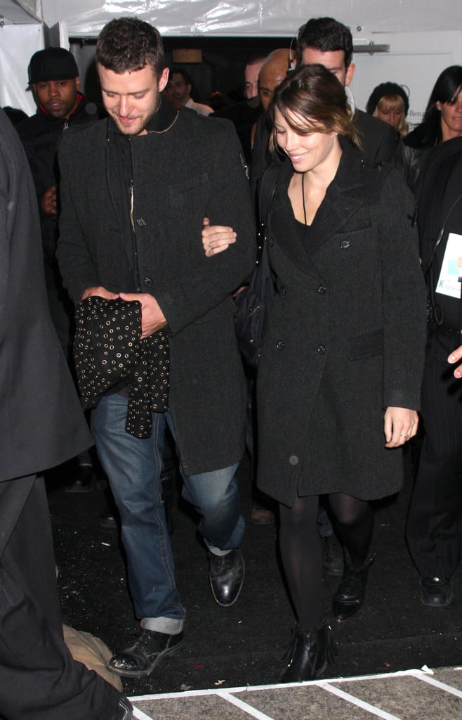 They were all smiles during a February 2009 night out in NYC.