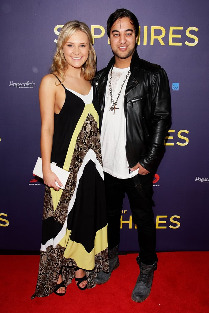 Brittany Cairns and Chris Sebastian